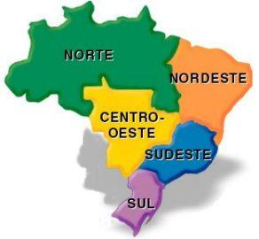 Galerry mapa das regies do brasil